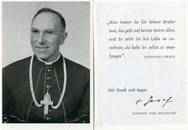 Bischof Dr. Josef Stimpfle, ABA Fotosammlung