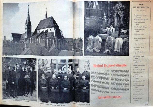 St. Ulrichsblatt Nr. 43/1963 vom 27. Oktober 1963, S. 10f.
