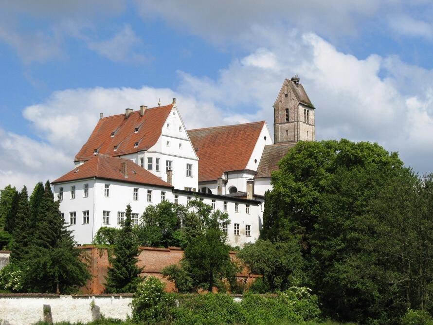 Gablingen Kirche und Schloß