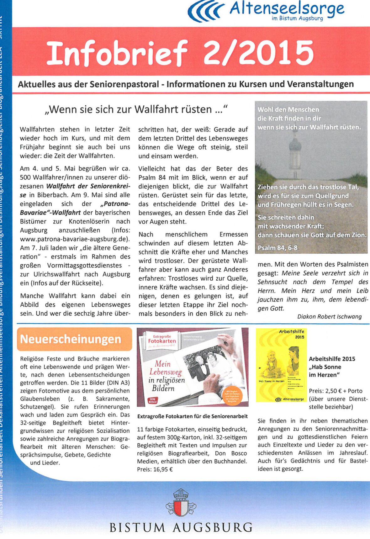 1 Seite für die Homepage