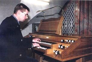 Organist Franz Raith