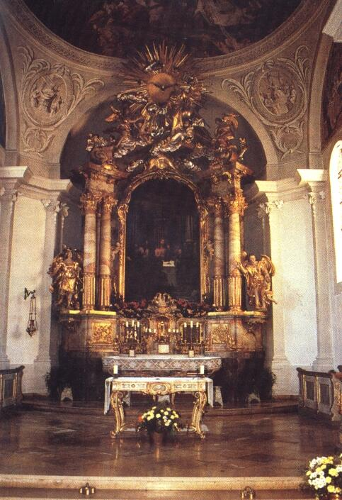 Der barocke Hochaltar