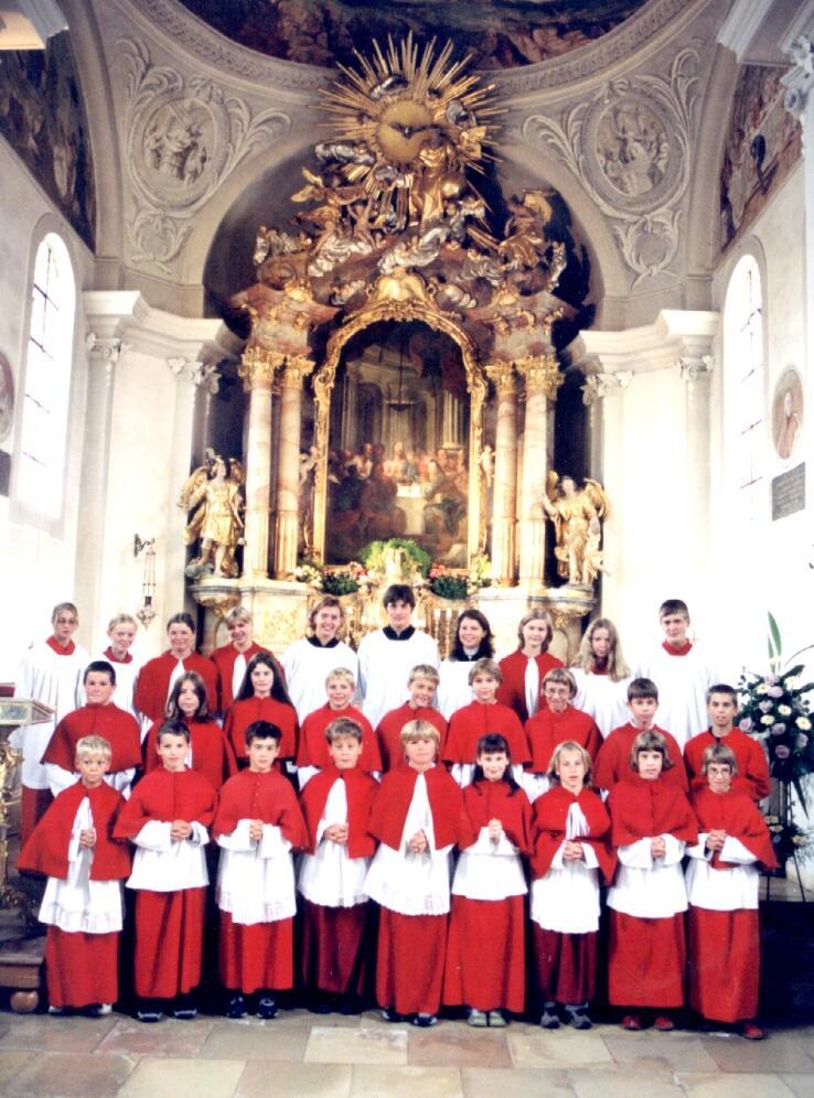 Die Ministranten von St. Michael