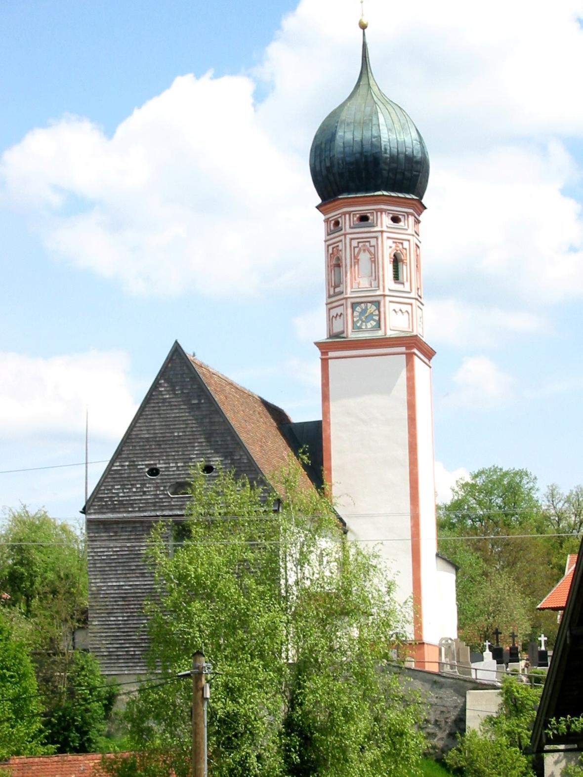 St. Agatha in Uffing