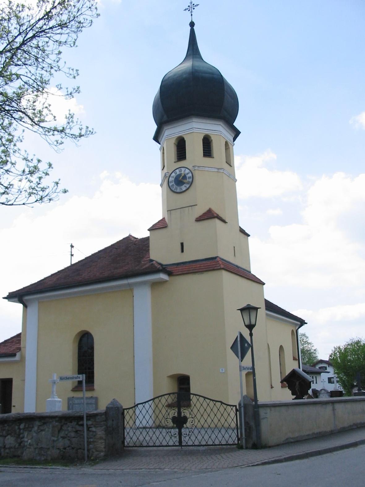 St. Afra in Spatzenhausen