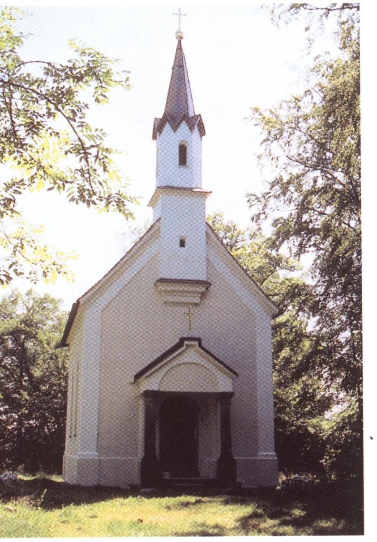 Die Simpertkapelle auf der Insel Wörth