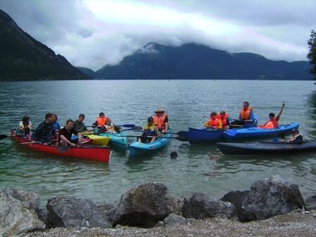 Minis Walchensee Ausflug 2009