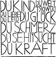 Linoldruck von Claudia Nietsch-Ochs