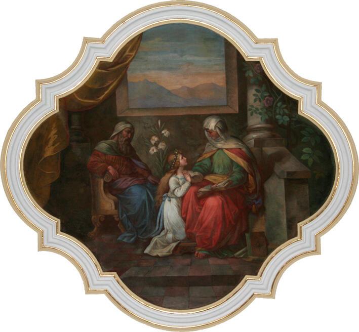 Joachim, Maria als Kind und Anna