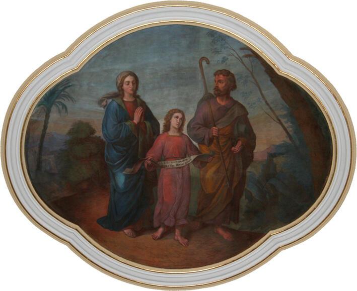 Maria, Jesus und Joseph