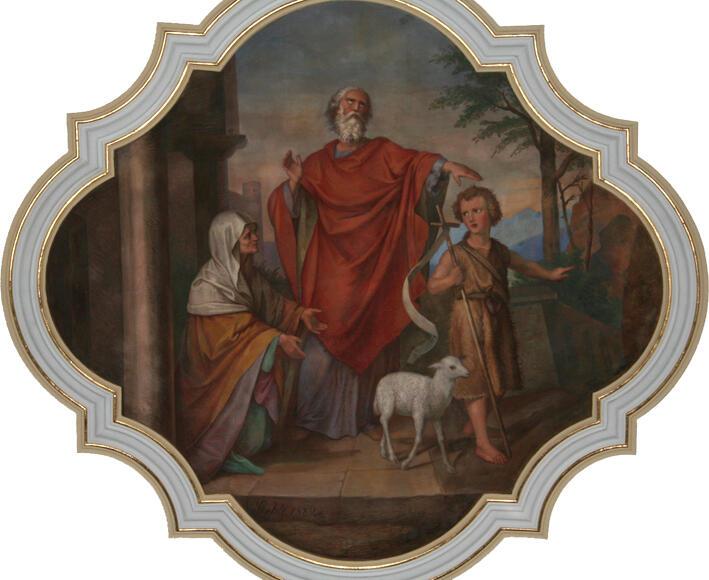 Elisabeth, Zacharias und Johannes