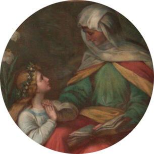 Maria und ihre Mutter Anna