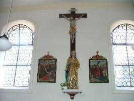 Kreuzigungsgruppe mit Madonna