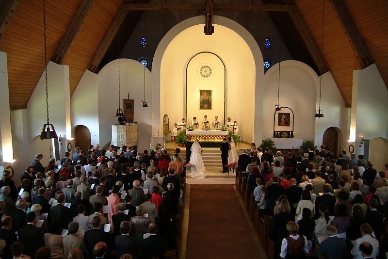 Hochzeit von zwei Brautpaaren am 4. August 2007
