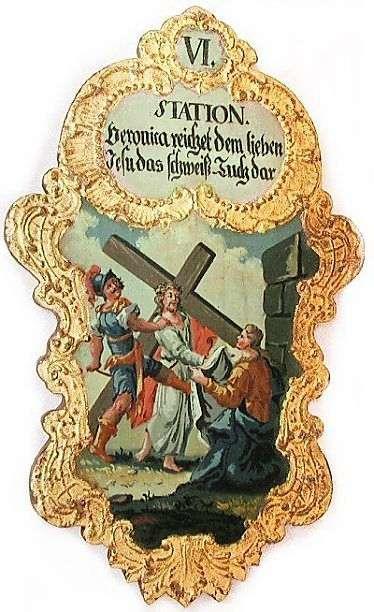 6. Veronica reichet dem lieben Jesu das Schweiß-Tuch dar, Foto: Schuzmacher