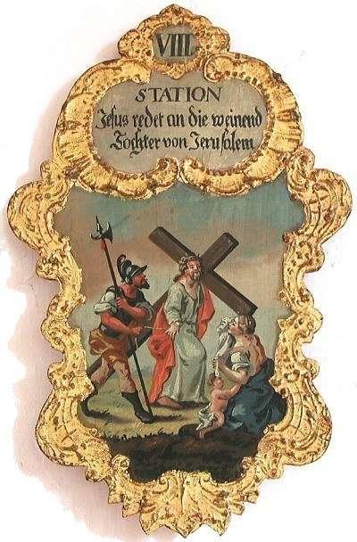 8. Jesus redet an die weinend Tochter von Jerusalem, Foto: Schumacher