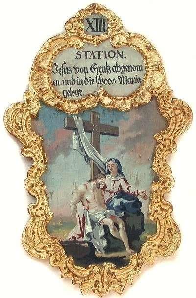 13. Jesus von Creutz abgenomen und in die Schoos Maria gelegt, Foto: Schumacher