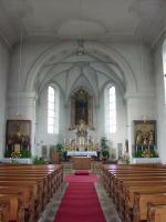 Hoch- und Seitenaltäre in St. Georg Offingen