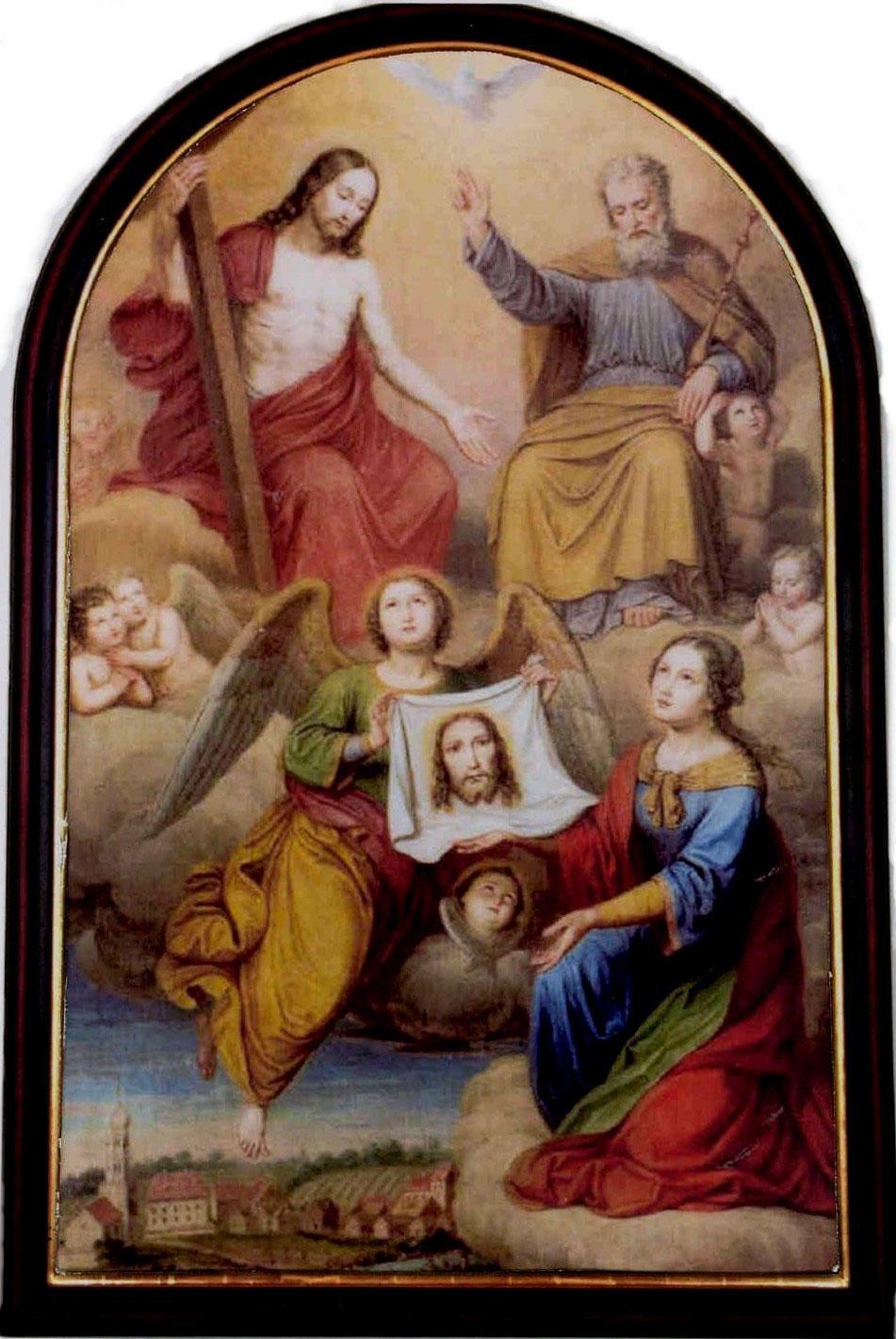 Früheres barockes Altarbild