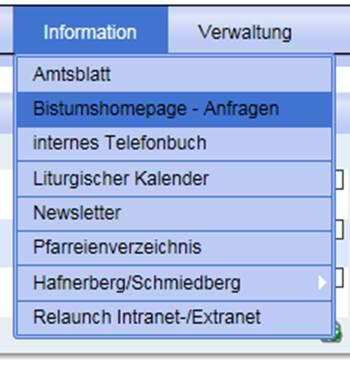 Applikation Extranet