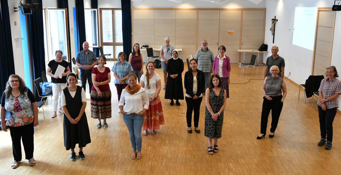 Begleitkurs 2020 Liturgie im Fernkurs (Foto: Julian Schmidt / pba)
