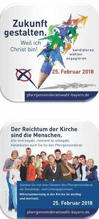 Bierdeckel Pfarrgemeinderatswahl 2018_web