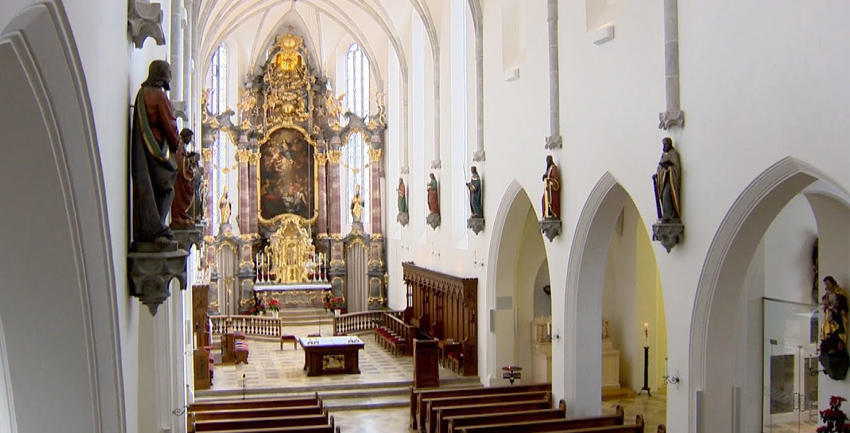 Boxbild Aichacher Stadtpfarrkirche