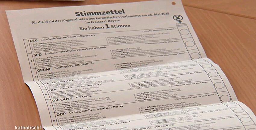 Boxbild Europawahl