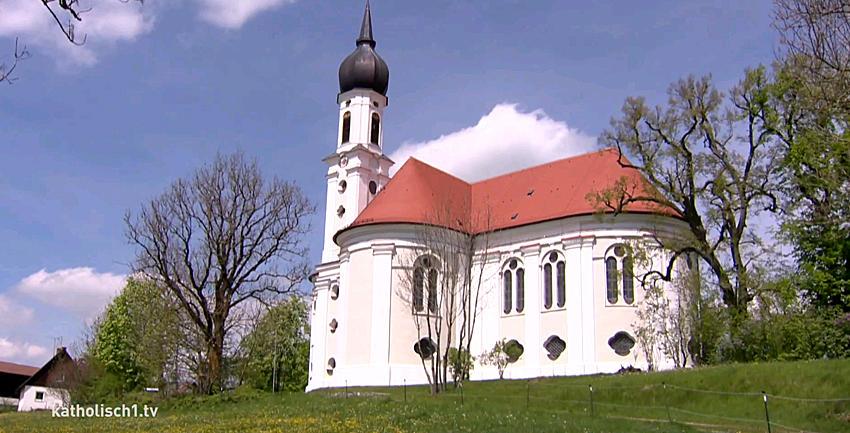 Boxbild Kirchenporträt Vilgertshofen