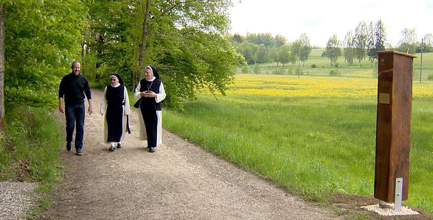 Boxbild Meditationsweg Oberschönenfeld