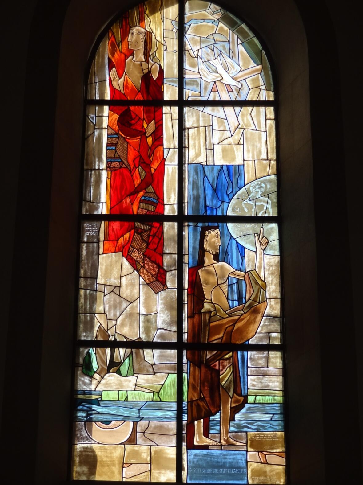 Chorfenster Segnung