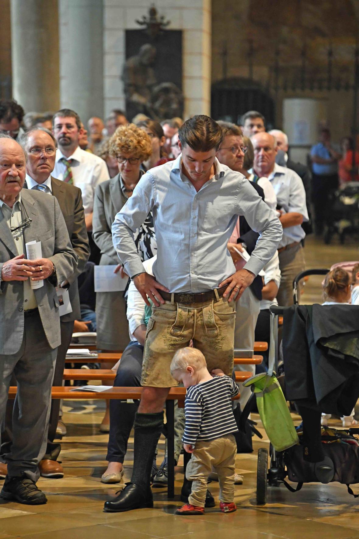 Dankgottesdienst zur Verabschiedung von Bischof Konrad (Foto Nicolas Schnall_pba) 6