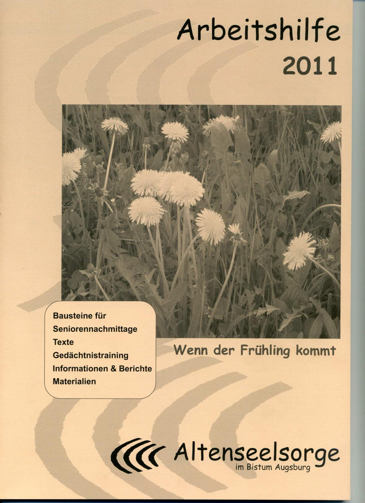 Deckblatt Arbeitshilfe 2011001