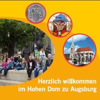 """Das """"Domrad"""" - ein drehbarer Domführer - ist für 2,50 € am Empfang im Dom, im Diözesanmuseum und im Dompfarrbüro erhältlich."""