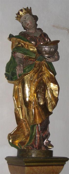 Margret Färber Elisabeth-Figur in St. Anna, Herkheim