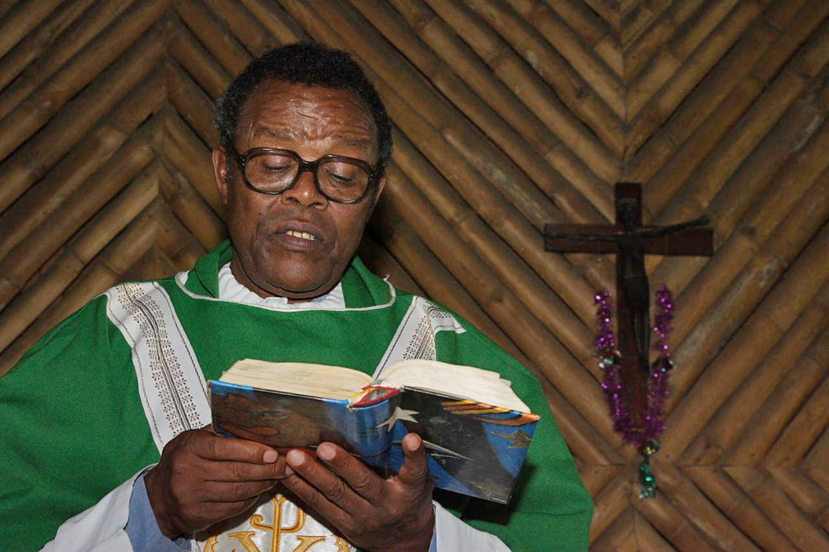 Father Andrew in Arusha