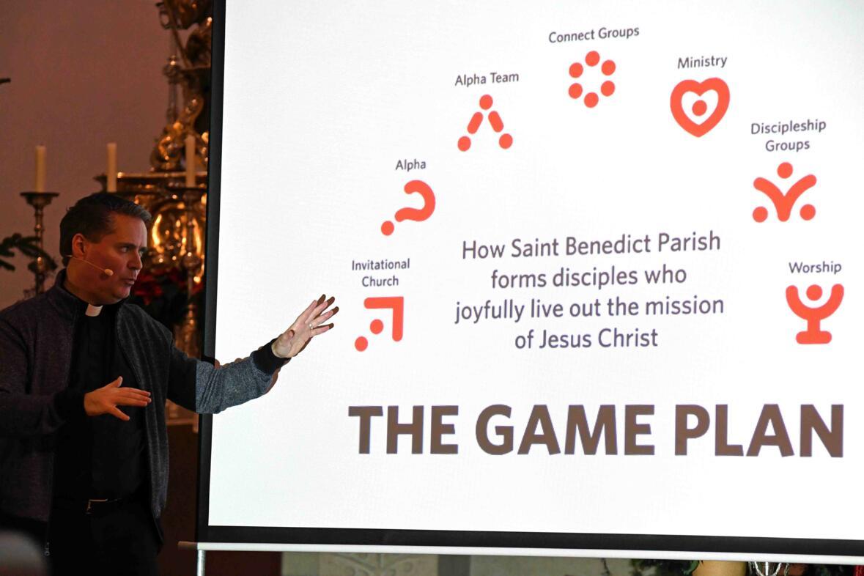 Der Game Plan für die Neuevangelisierung einer Pfarrei (Foto: Nicolas Schnall /pba)