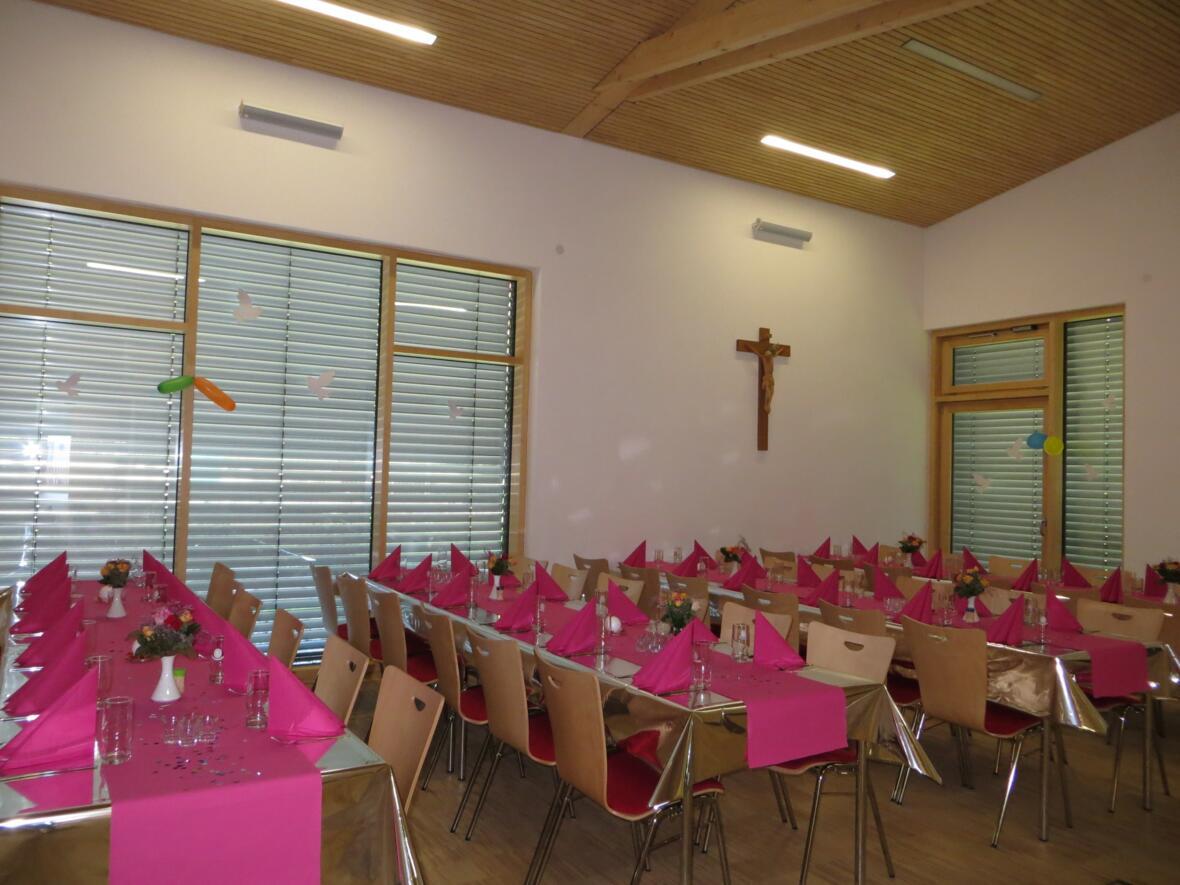 Franziskus-Saal, nördliche Saalhälfte 2013
