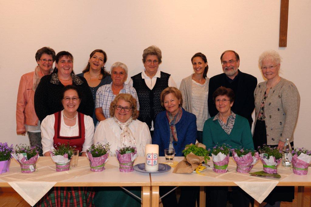 Frauenbund Vorstand Homepage