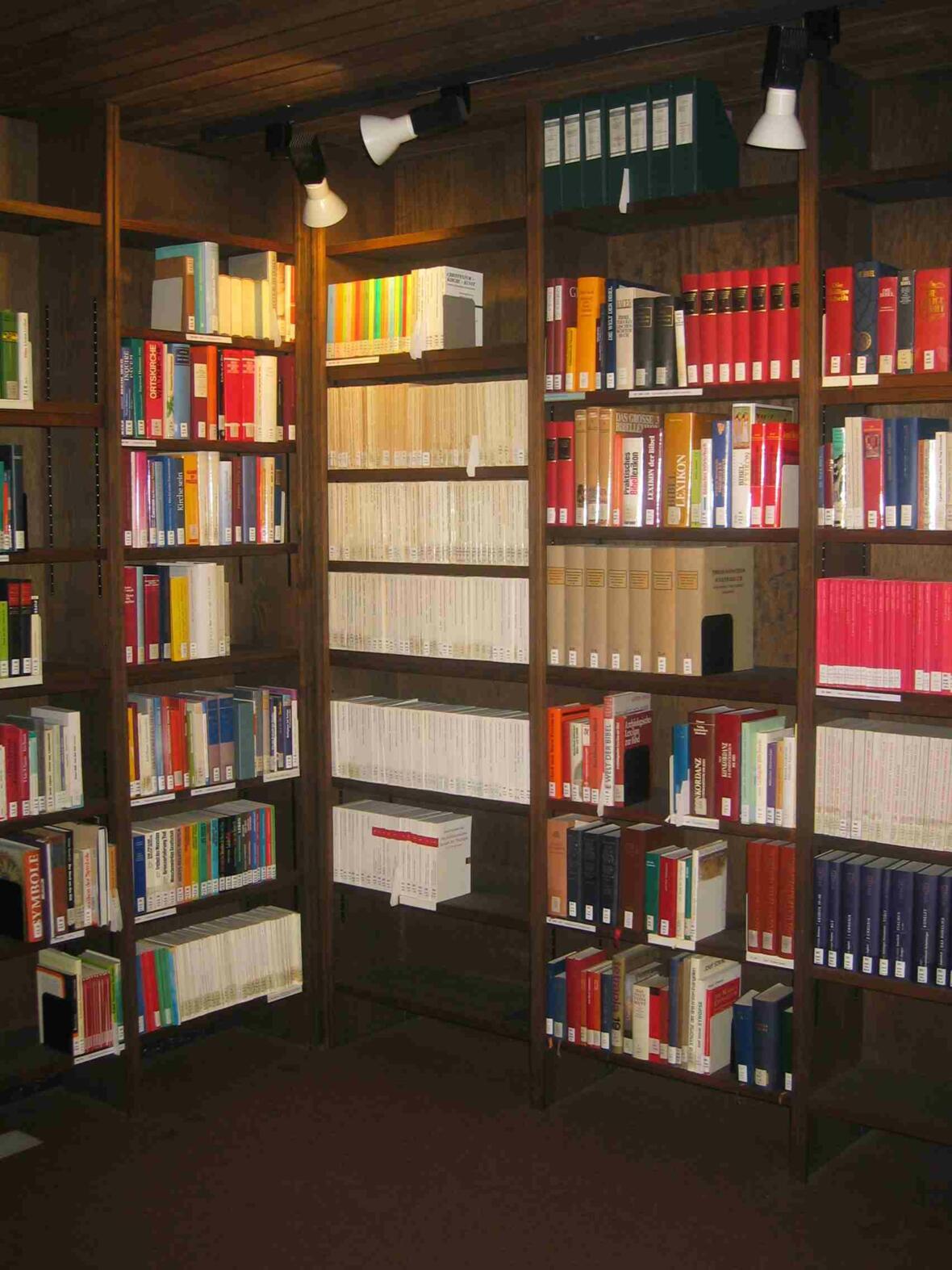 Freihandbestand Pastoralbibliothek