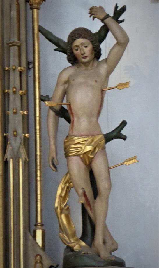 Sebastiansdarstellung im Hohen Dom Augsburg