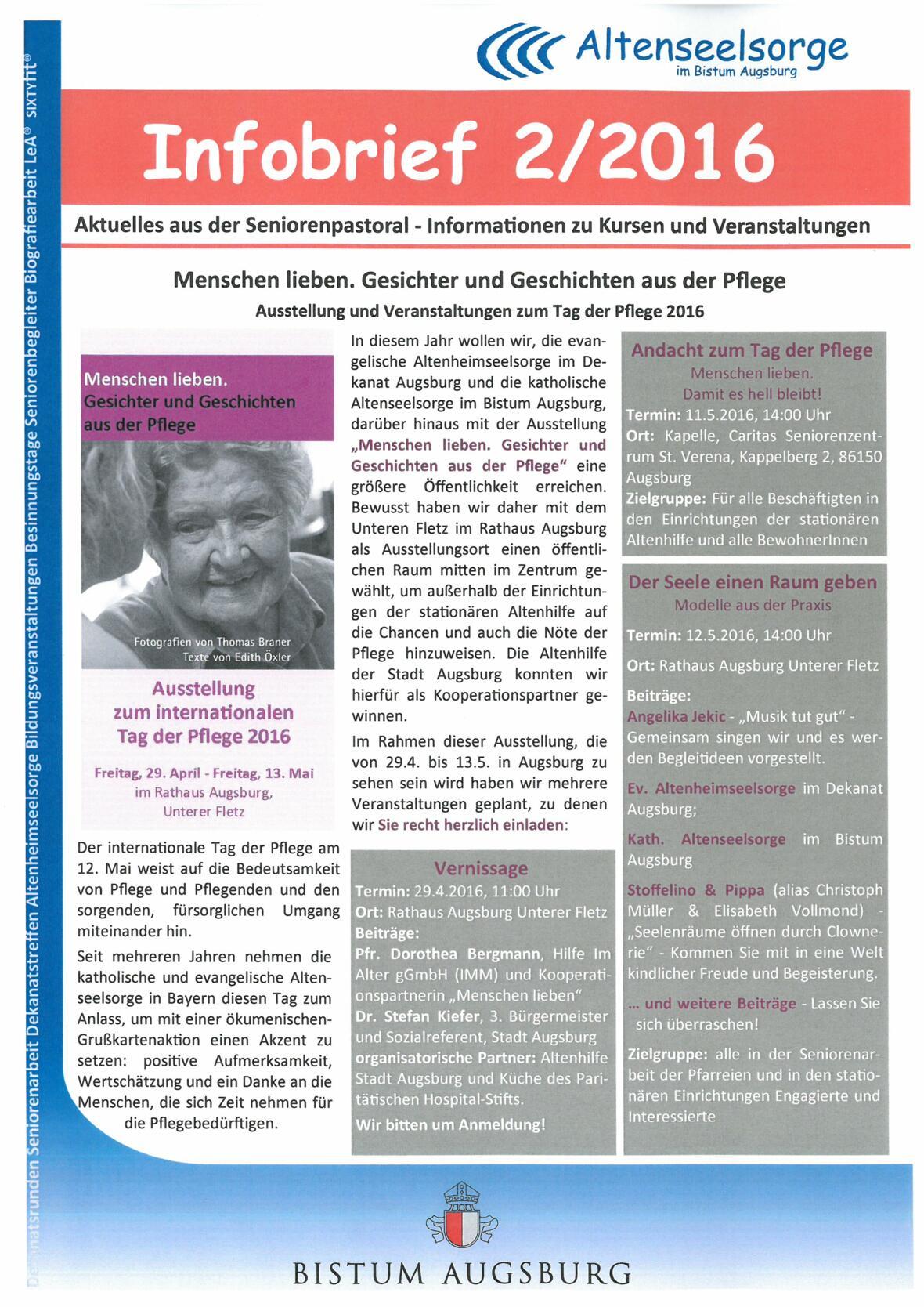 Infobrief Titelblatt für Homepage