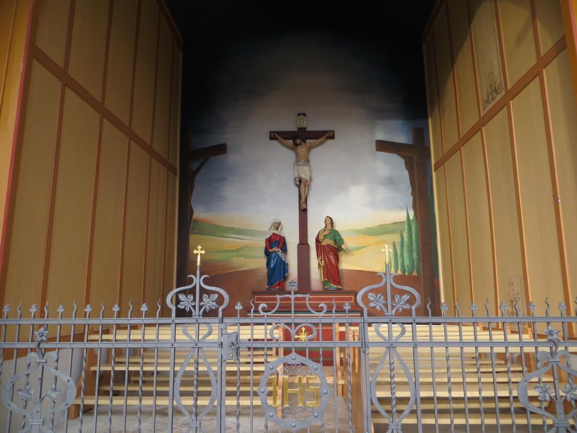 Kalvarienbergkapelle  Innenansicht1