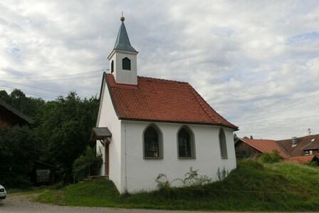 Kapelle in Greggenhofen