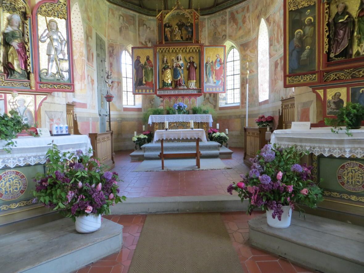 Kapelle St. Bartholomäus Zell, Altar