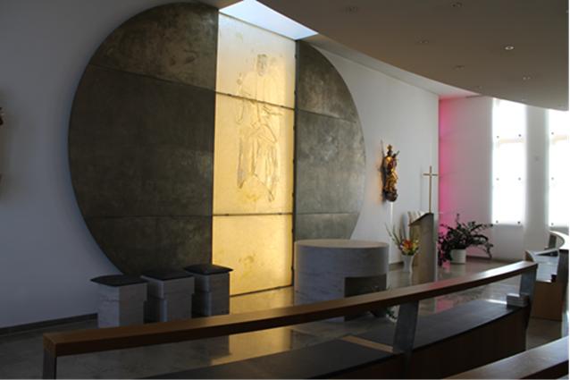 Die Kapelle der Klink Krumbach