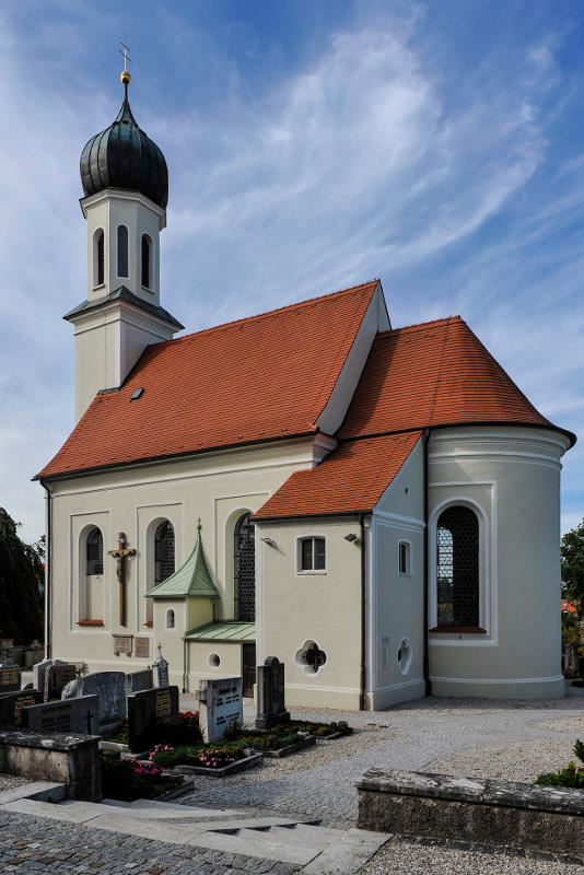 Aussenansicht der Pfarrkirche