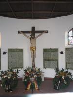 Kreuz in Gefallenenkapelle
