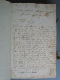 Schilderung der Schlacht von Höchstädt (13. August 1704) ABA, Matrikeln Lutzingen 1