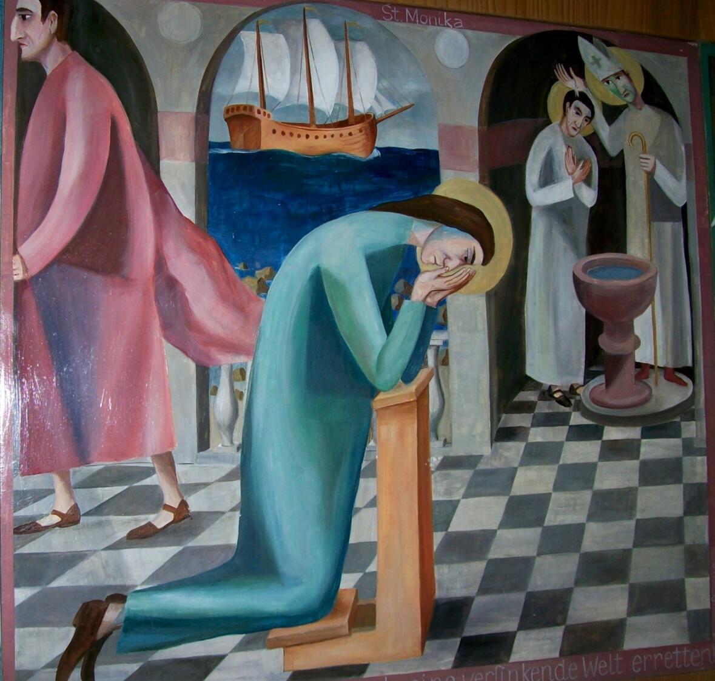 Monika und Augustinus